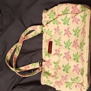 Bungalow 360 peace turtle bag